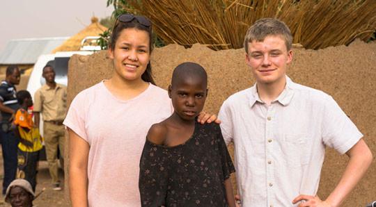 Young Ambassadors with Lariba